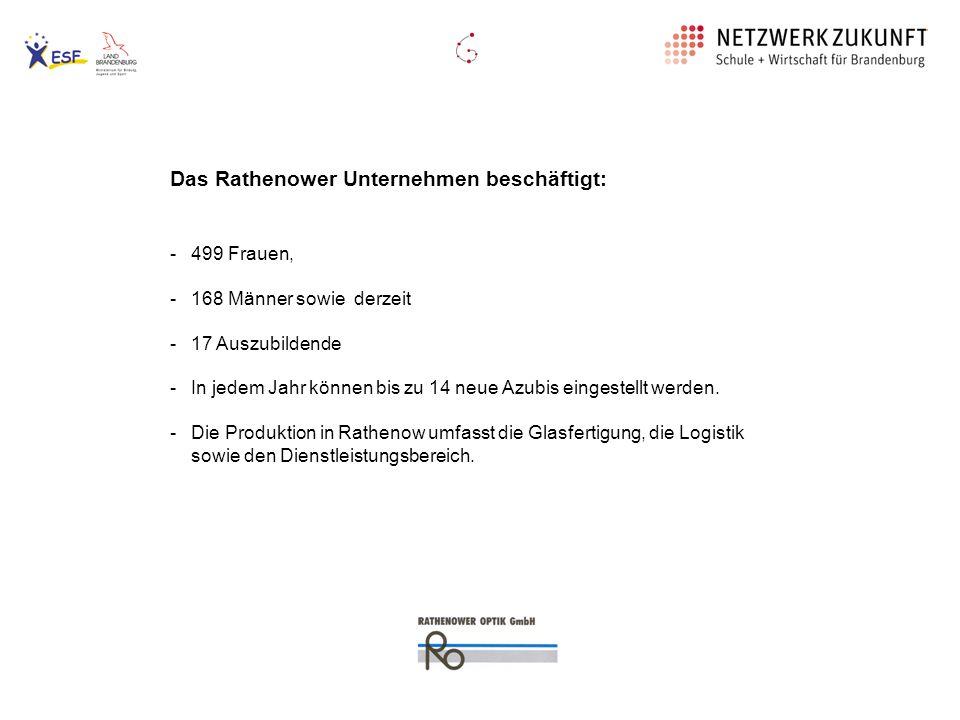 Das Rathenower Unternehmen beschäftigt: