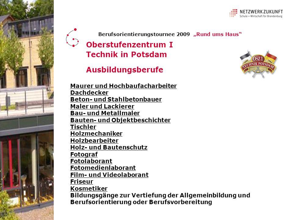 Oberstufenzentrum I Technik in Potsdam