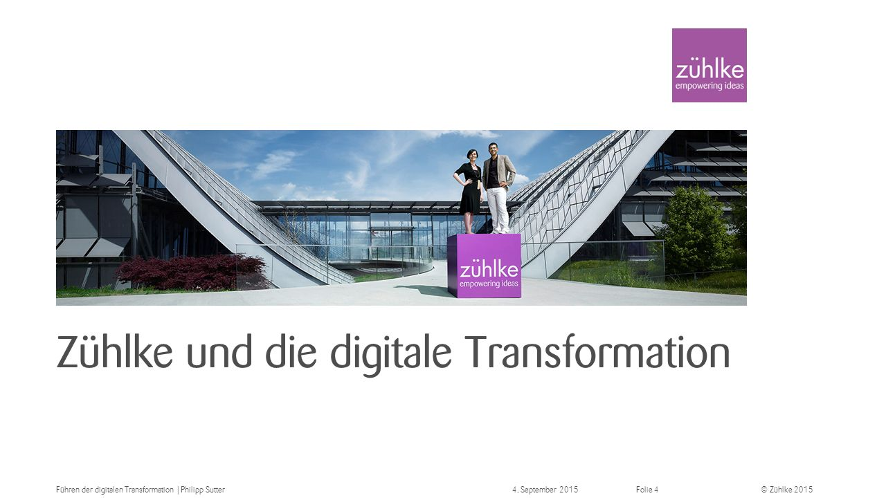Zühlke und die digitale Transformation