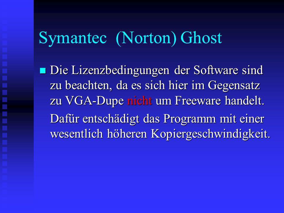 Symantec (Norton) Ghost