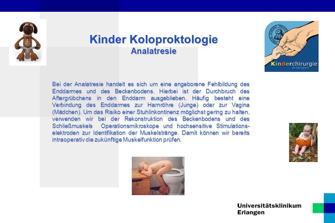 Kinder Koloproktologie