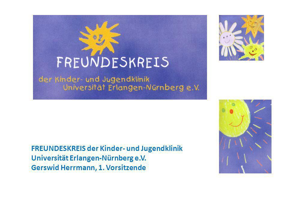 FREUNDESKREIS der Kinder- und Jugendklinik Universität Erlangen-Nürnberg e.V.