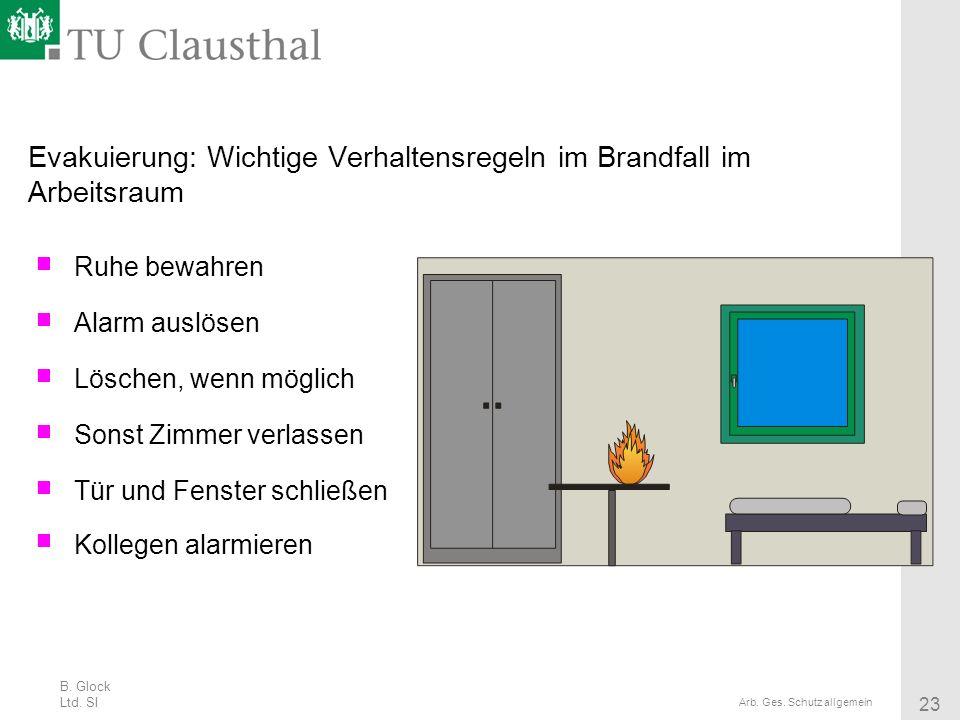 Evakuierung: Wichtige Verhaltensregeln im Brandfall im Arbeitsraum