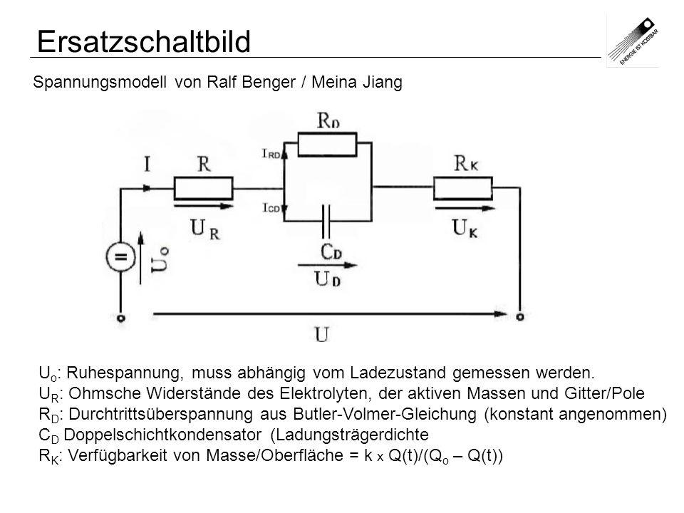 Ersatzschaltbild Spannungsmodell von Ralf Benger / Meina Jiang