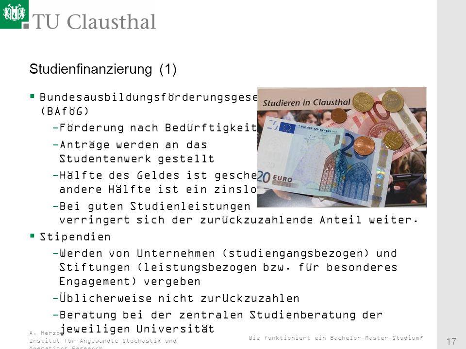 Studienfinanzierung (1)