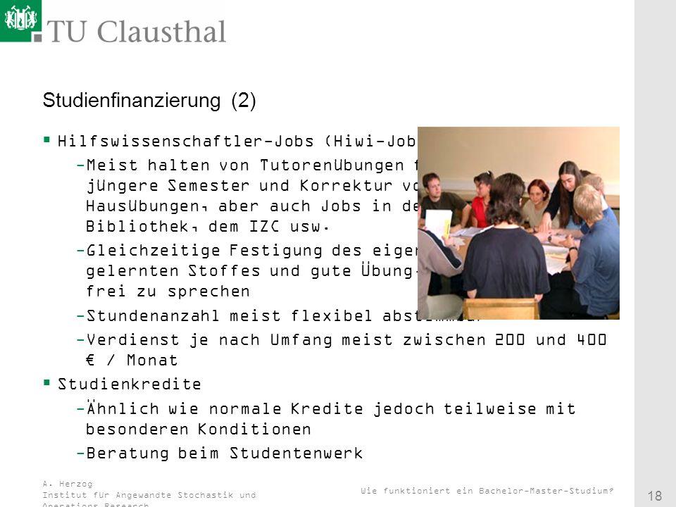 Studienfinanzierung (2)