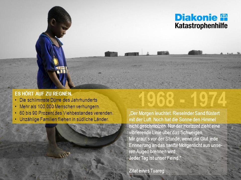 ES HÖRT AUF ZU REGNEN. Die schlimmste Dürre des Jahrhunderts. Mehr als 100.000 Menschen verhungern.