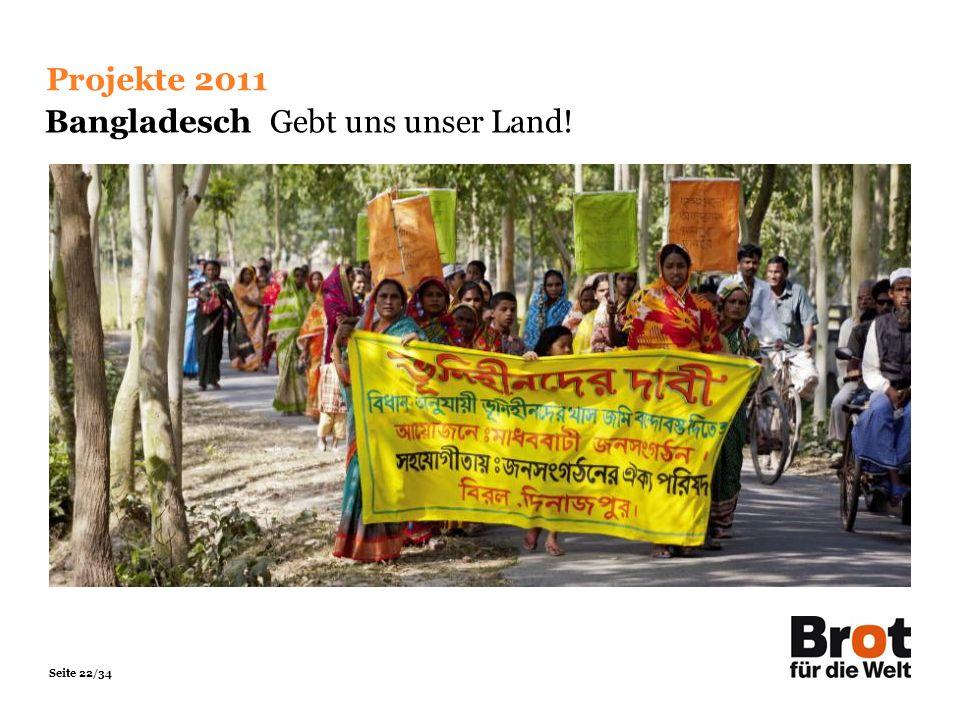 Bangladesch Gebt uns unser Land!
