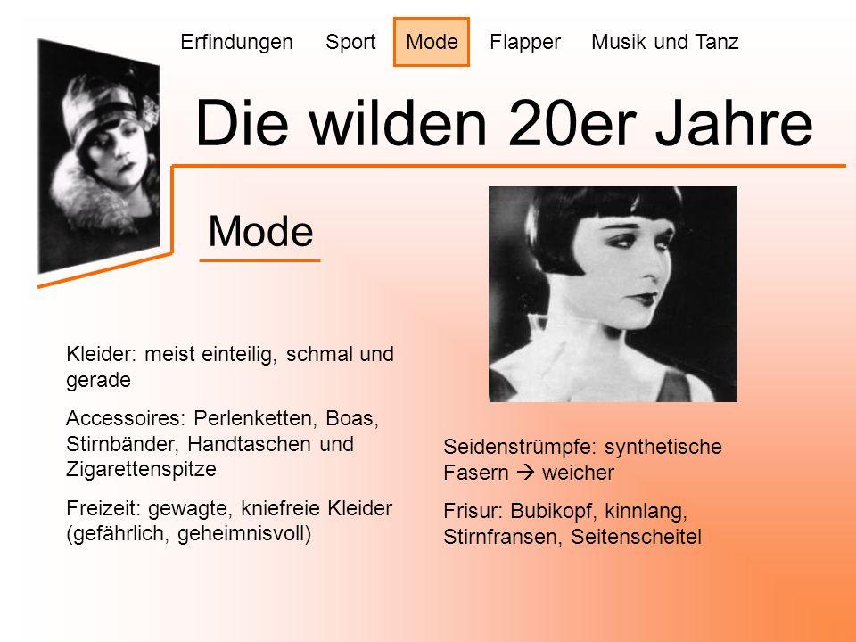 Die wilden 20er Jahre Mode