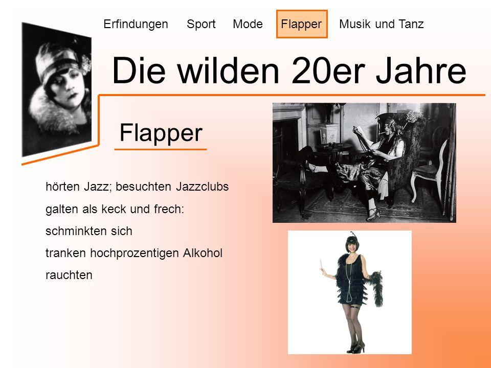 Die wilden 20er Jahre Flapper