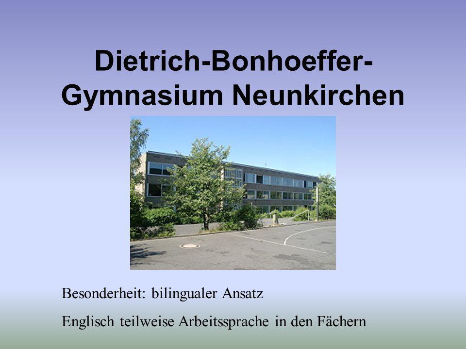 Dietrich-Bonhoeffer-Gymnasium Neunkirchen