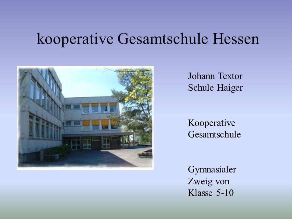 kooperative Gesamtschule Hessen
