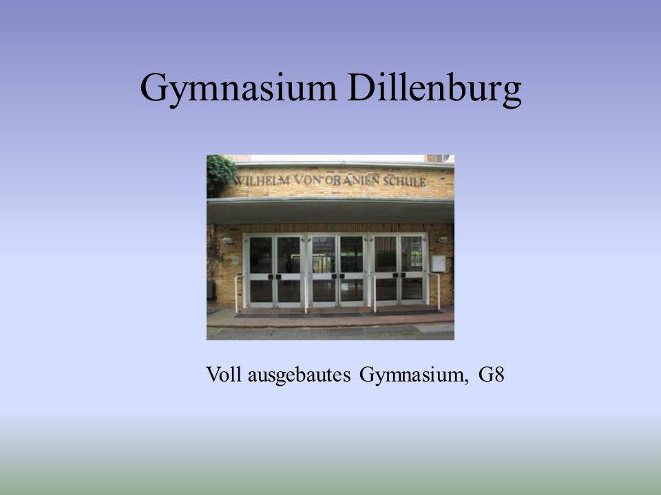 Voll ausgebautes Gymnasium, G8