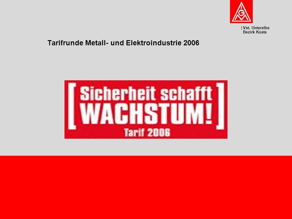 Tarifrunde Metall- und Elektroindustrie 2006