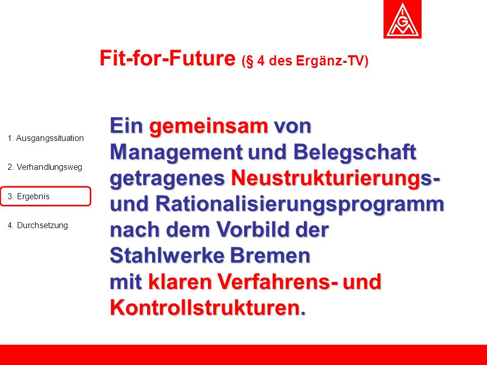 Fit-for-Future (§ 4 des Ergänz-TV)
