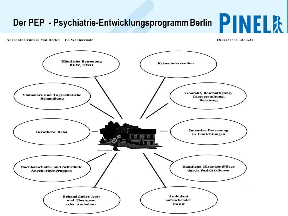 Der PEP - Psychiatrie-Entwicklungsprogramm Berlin