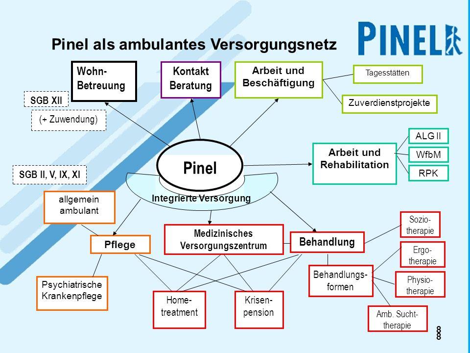 Pinel Pinel als ambulantes Versorgungsnetz Wohn-Betreuung
