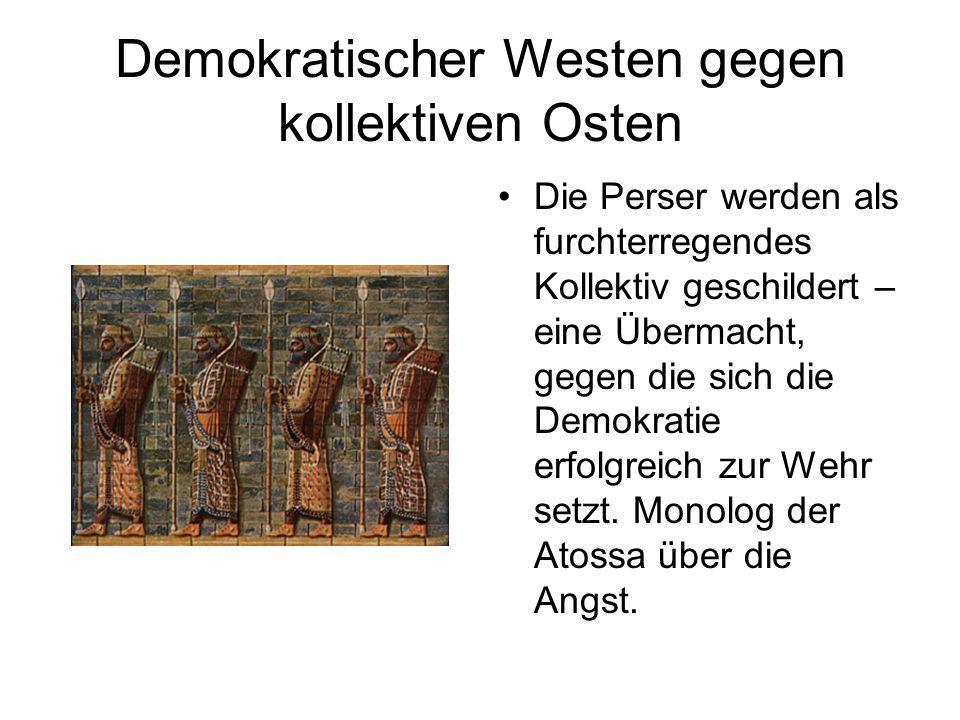 Demokratischer Westen gegen kollektiven Osten