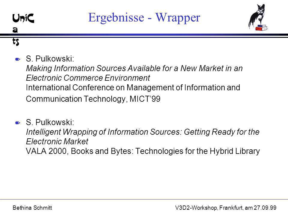 Ergebnisse - Wrapper