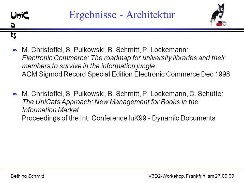 Ergebnisse - Architektur