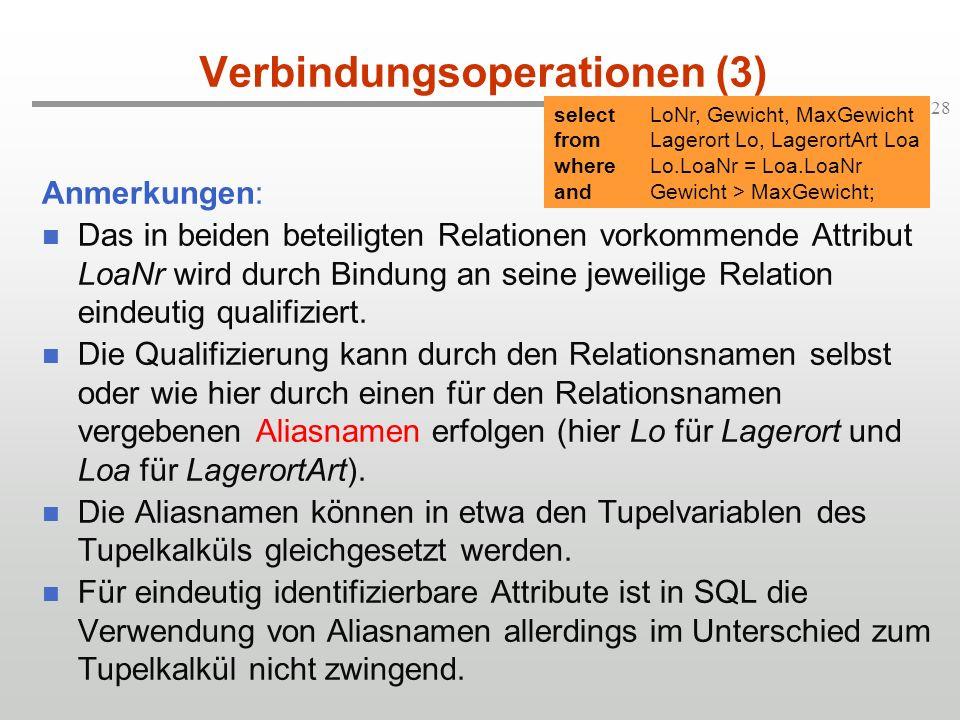 Verbindungsoperationen (3)