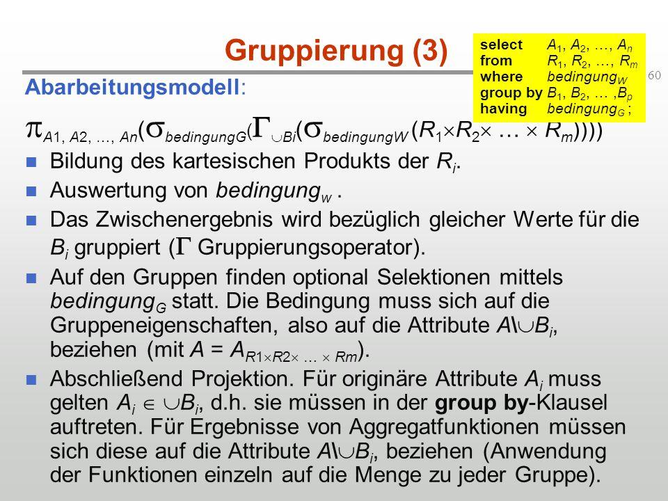 A1, A2, …, An(bedingungG(GBi(bedingungW (R1R2 …  Rm))))