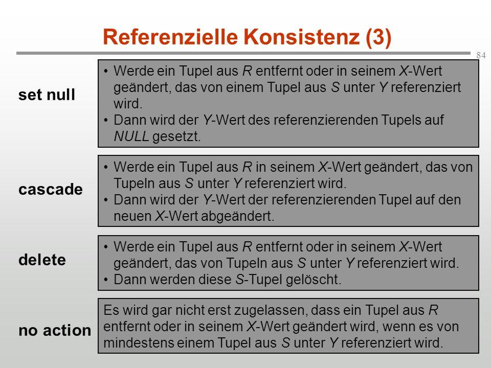 Referenzielle Konsistenz (3)