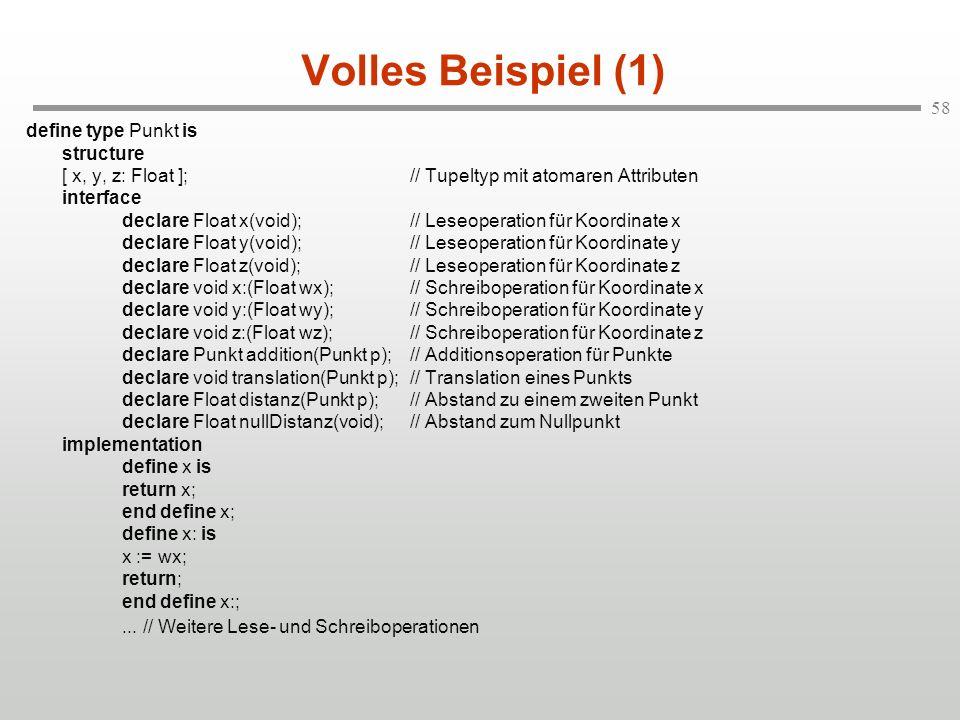 Volles Beispiel (1)
