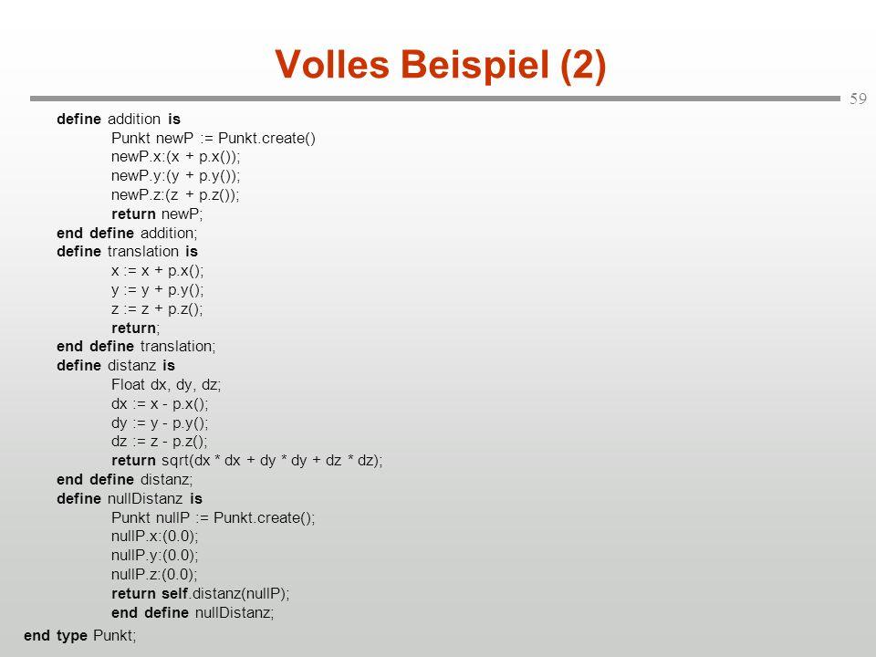 Volles Beispiel (2)