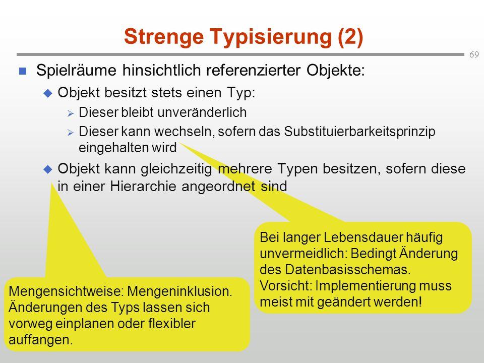 Strenge Typisierung (2)
