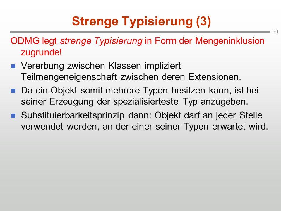 Strenge Typisierung (3)
