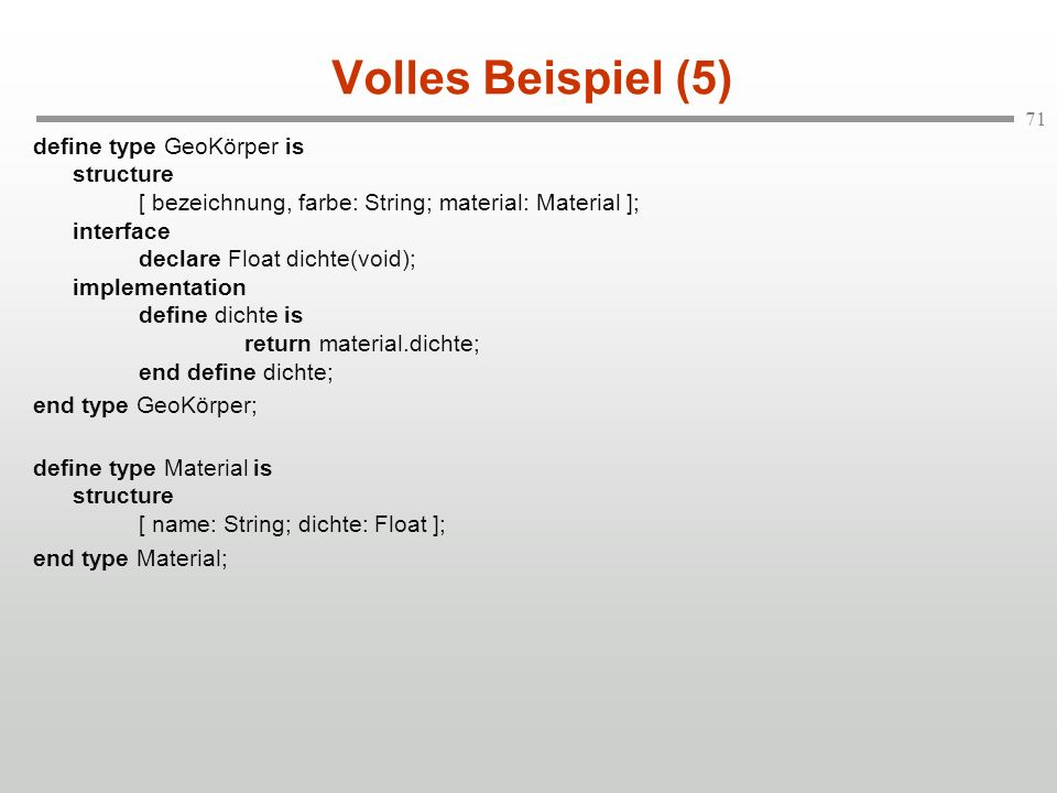 Volles Beispiel (5)