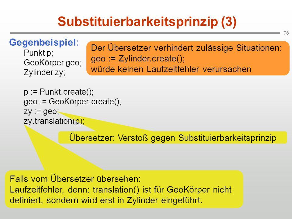 Substituierbarkeitsprinzip (3)