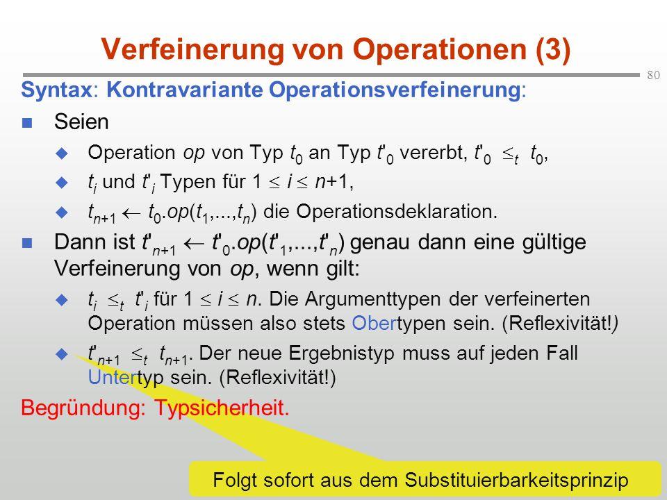 Verfeinerung von Operationen (3)