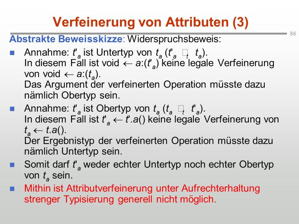 Verfeinerung von Attributen (3)