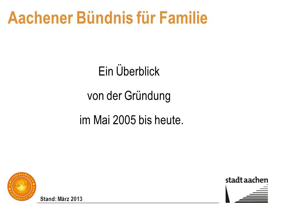 Aachener Bündnis für Familie