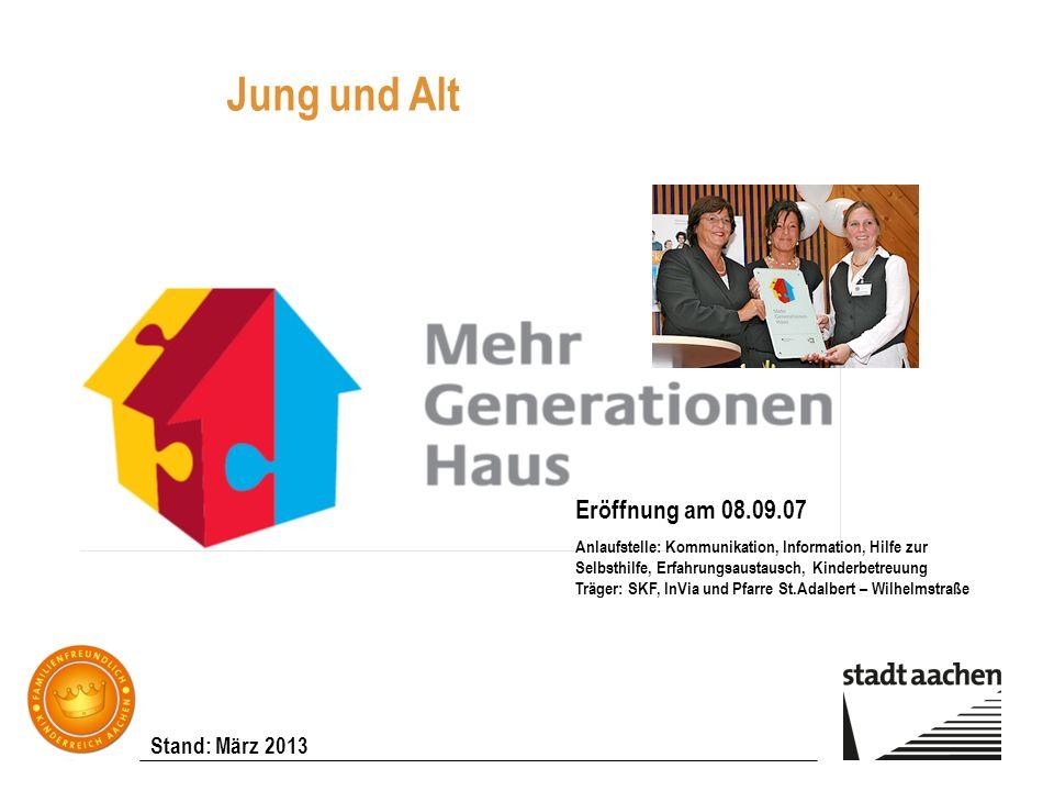 Jung und Alt Eröffnung am 08.09.07