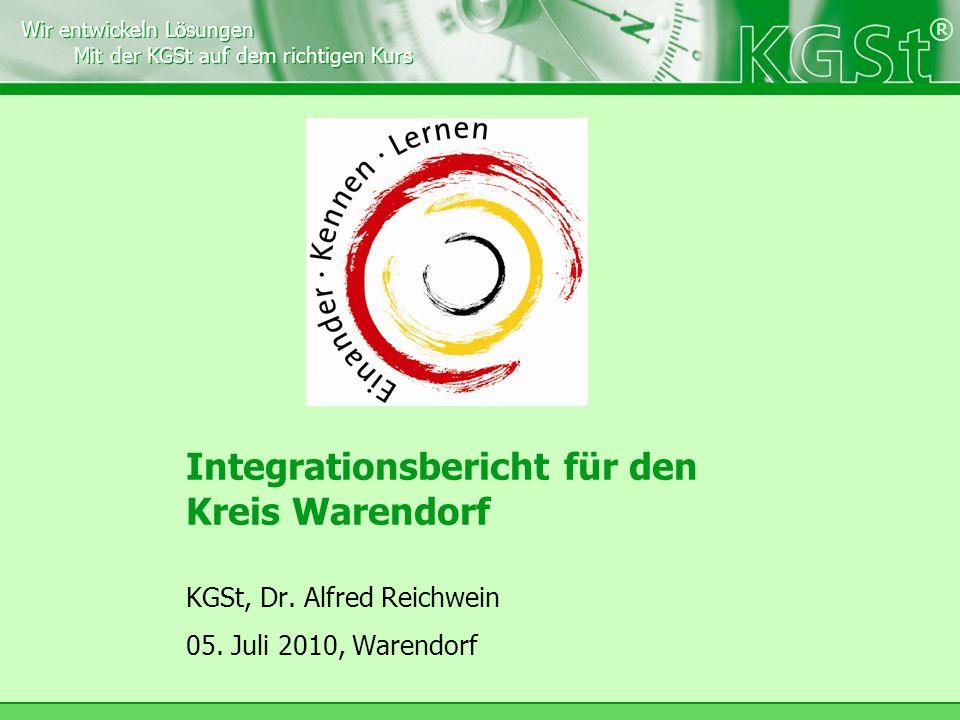 Integrationsbericht für den Kreis Warendorf