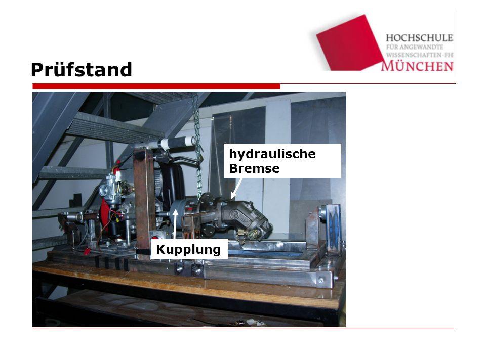 Prüfstand hydraulische Bremse Kupplung Testbed 23
