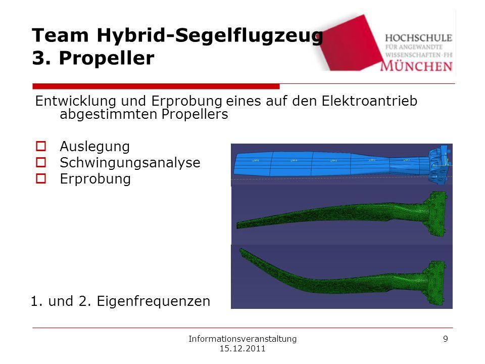 Informationsveranstaltung 15.12.2011