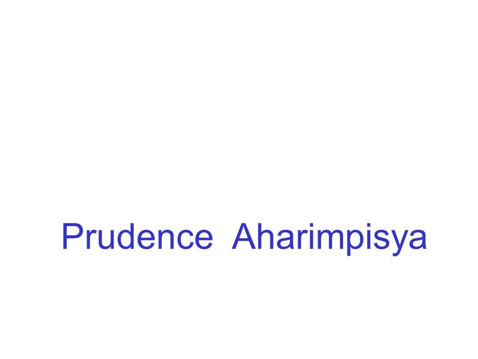 Prudence Aharimpisya