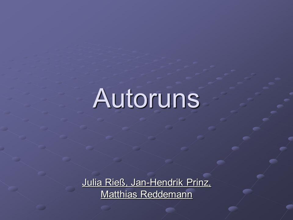 Julia Rieß, Jan-Hendrik Prinz, Matthias Reddemann