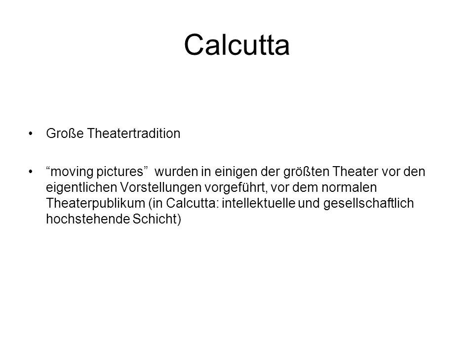 Calcutta Große Theatertradition