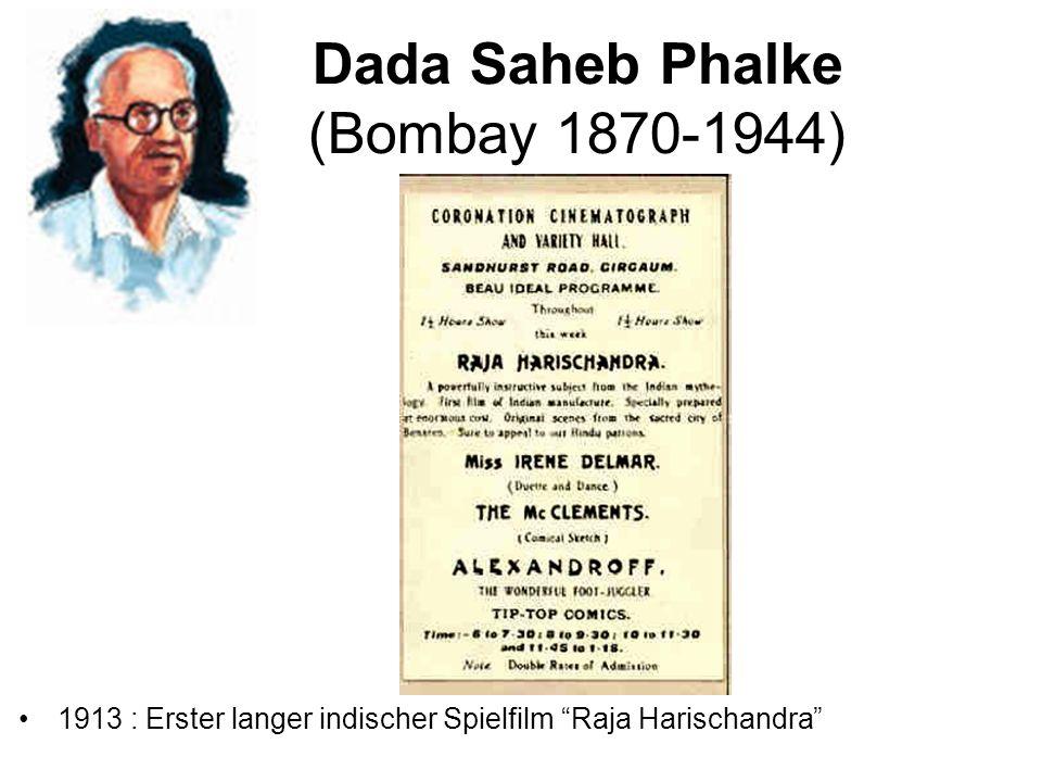 Dada Saheb Phalke (Bombay 1870-1944)
