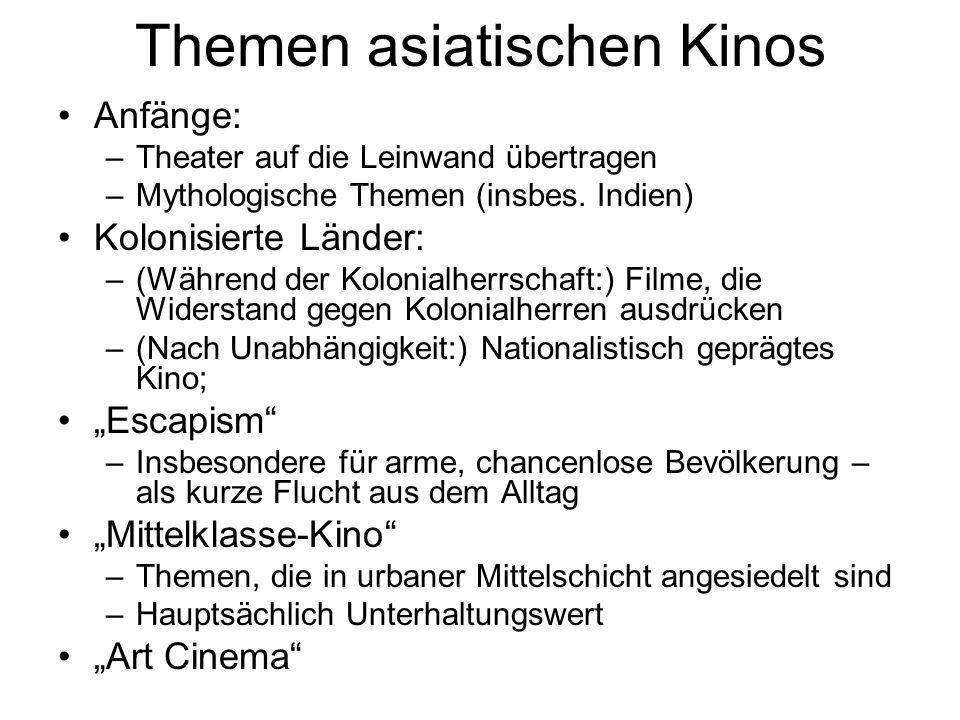 Themen asiatischen Kinos