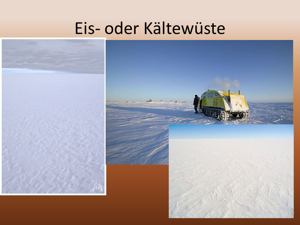 Eis- oder Kältewüste