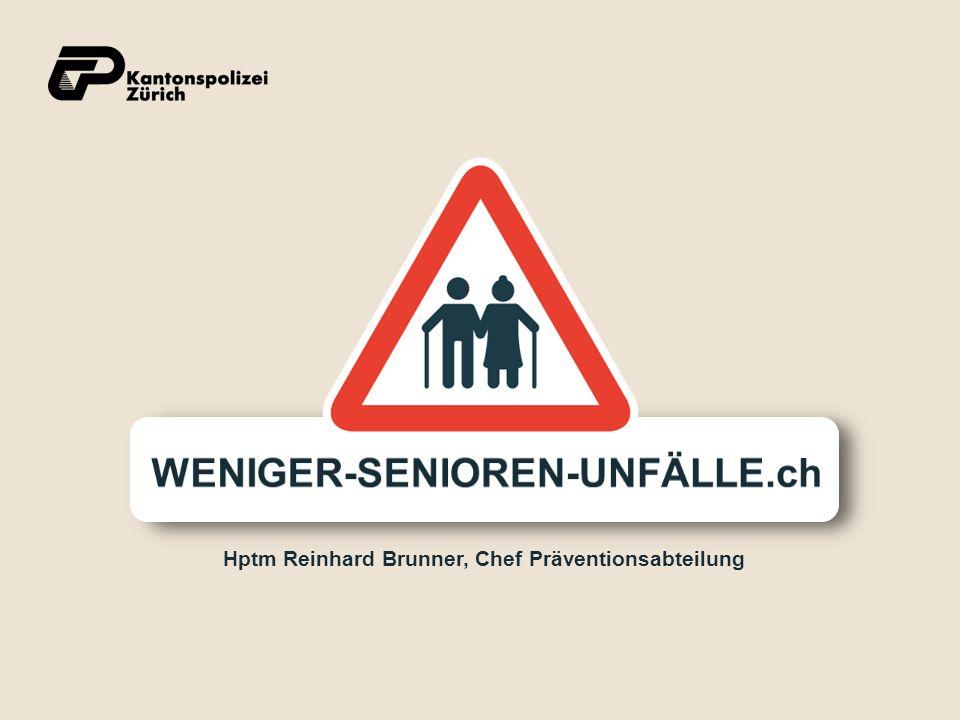 Hptm Reinhard Brunner, Chef Präventionsabteilung