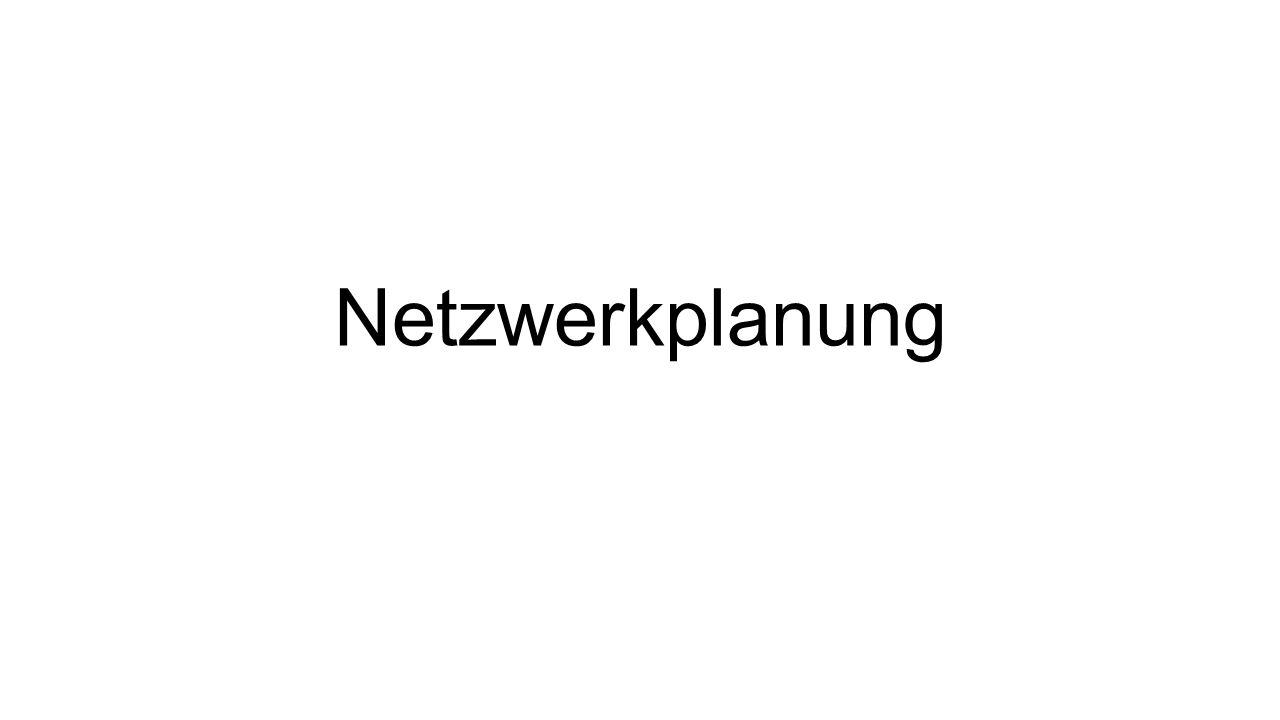 Netzwerkplanung