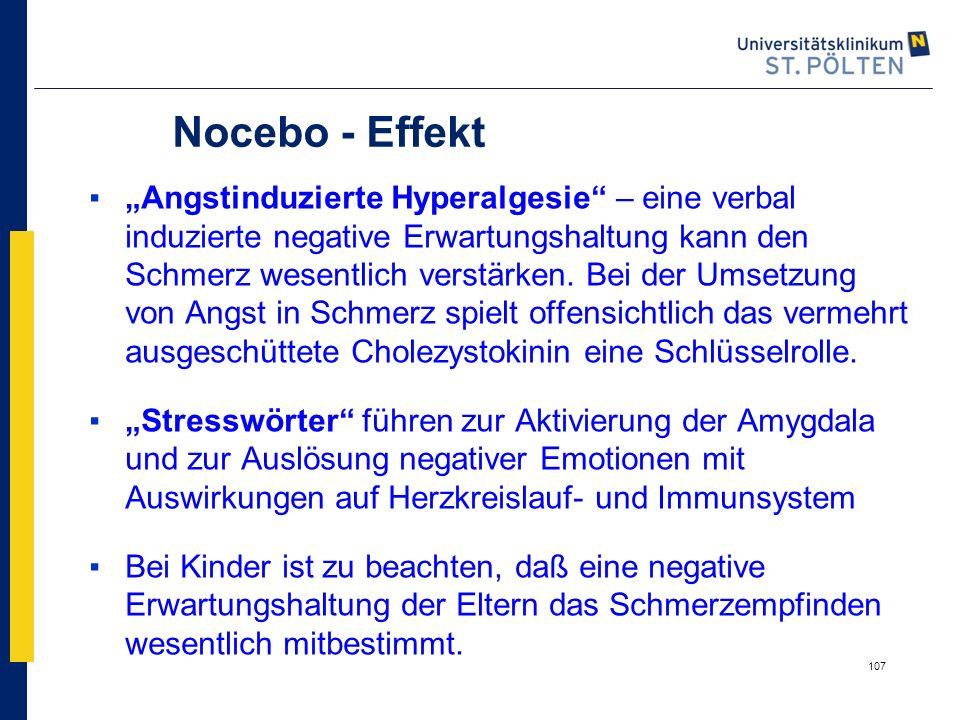 Nocebo - Effekt