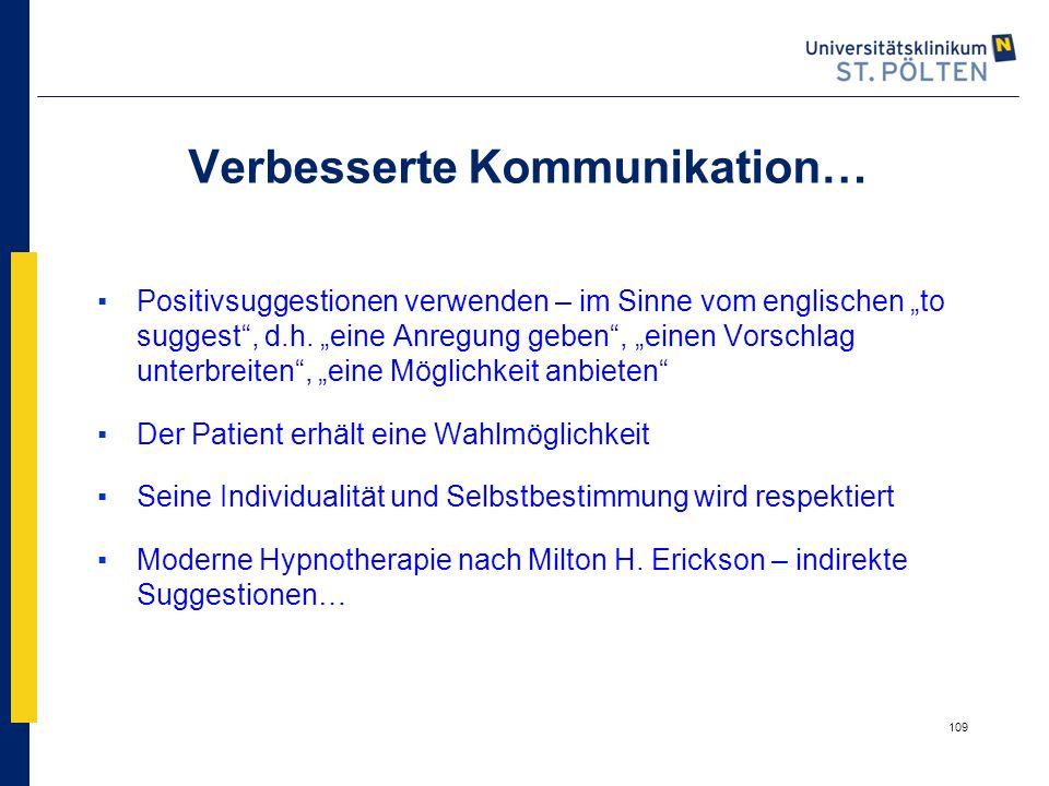 Verbesserte Kommunikation…